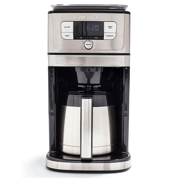 Cuisinart DGB-850 Fully Burr Thermal Grind-&-Brew Automatic Coffeemaker