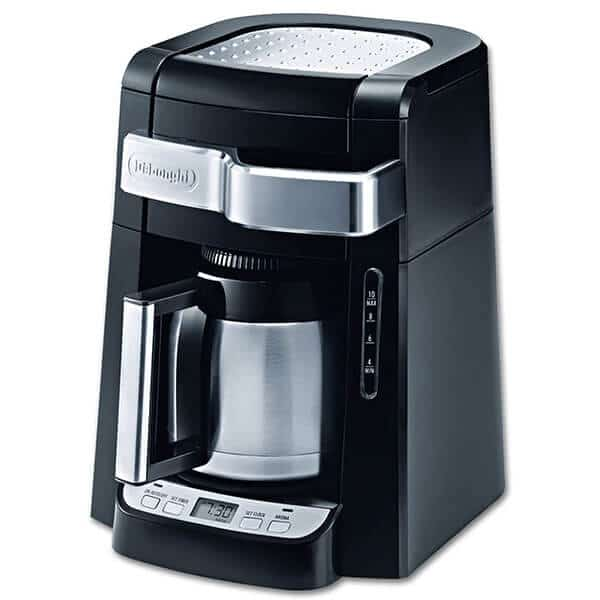 DeLonghi DCF2210TTC 10-Cup Thermal Carafe Drip Coffee Maker