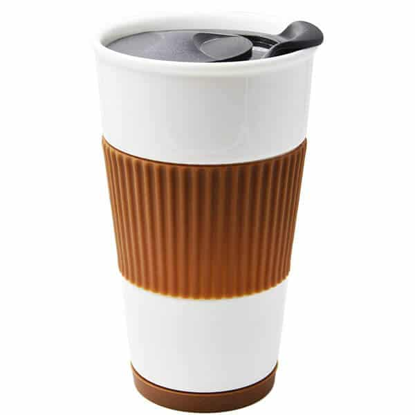 UDMG Ceramic Double Wall Insulated Travel Coffee Cup