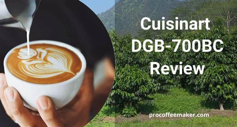 The Best Cuisinart DGB-700BC Review | Built-In-Grinder