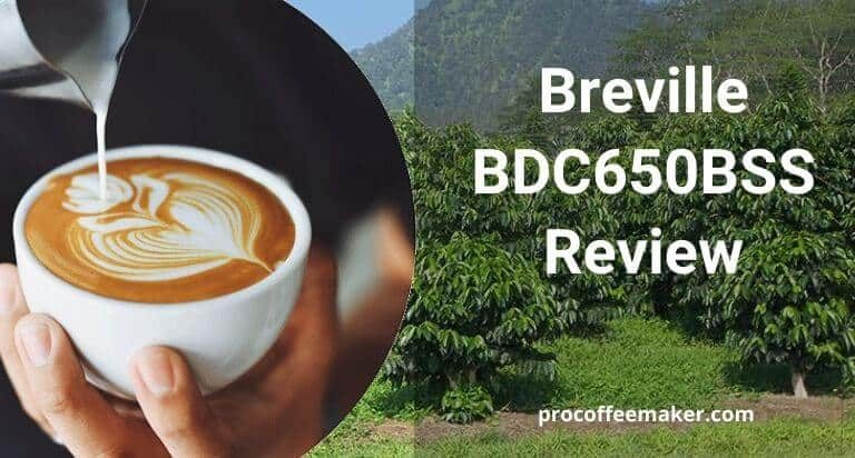 Breville BDC650BSS Review (Best Overall)