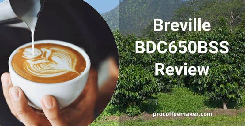 Breville BDC650BSS Review