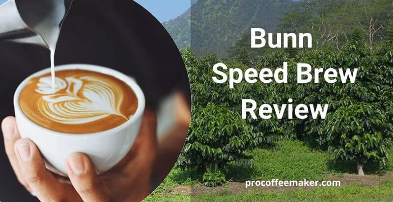 Bunn Speed Brew Review