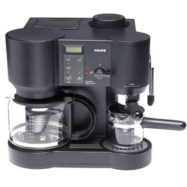 Krups 867-42 il Caffe Bistro 10-Cup Coffee & 4-Cup Espresso Maker