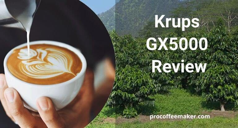 Krups GX5000 Review For 2020