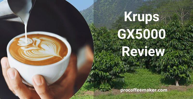 Krups GX5000 Review (Our Top Pick)