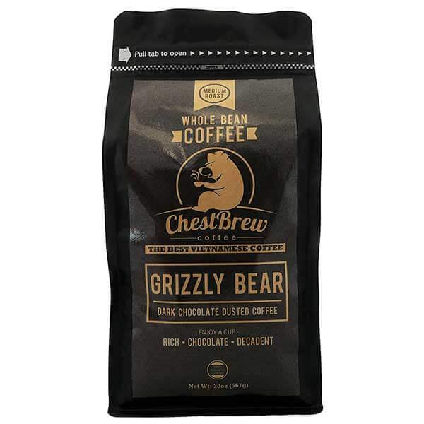 Chest Brew Strong Medium Roast Coffee