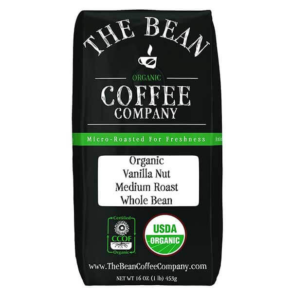 The Bean Coffee Company Organic Vanilla Nut Medium Roast Coffee