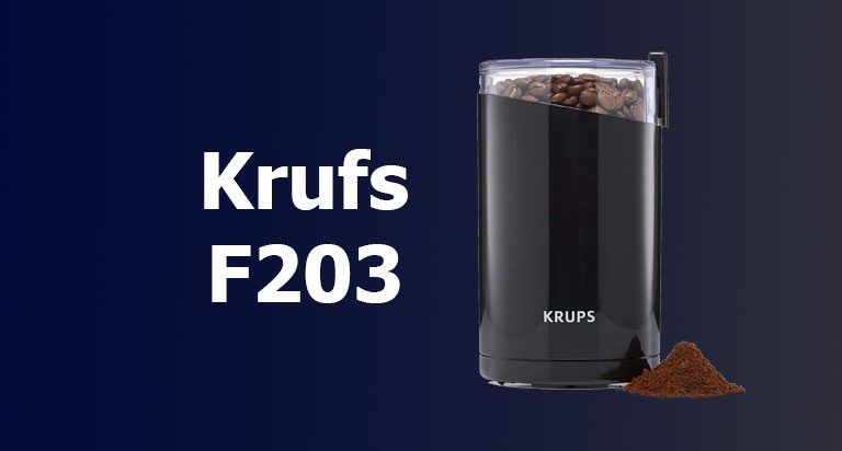 KRUPS F203 Review   Our Ultimate Choice