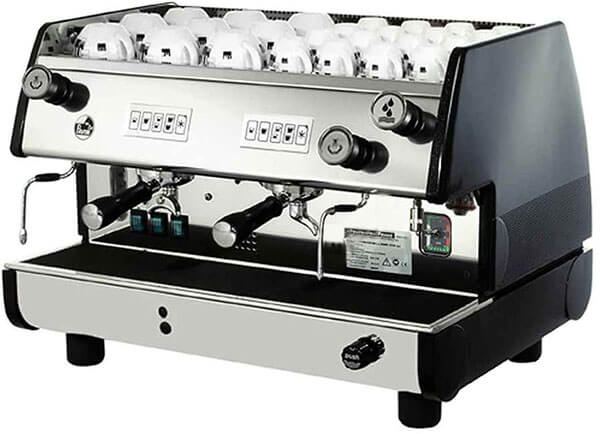 La Pavoni BAR T 2V B Commercial 2-Group 14L Boiler Volumetric Espresso Machine