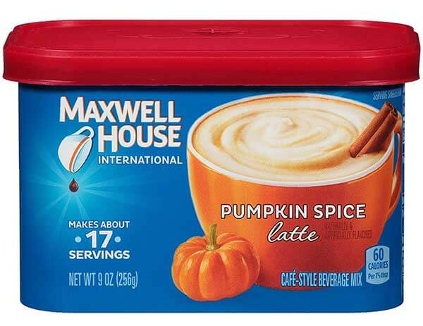 Maxwell House International Cafe Pumpkin Spice Latte