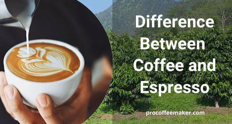 Know The Difference Between Coffee and Espresso In Easy Way