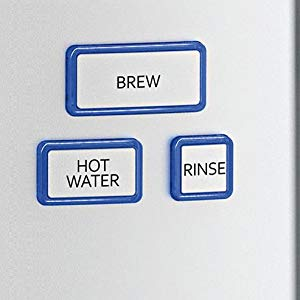 Hot Water and Rinse Features