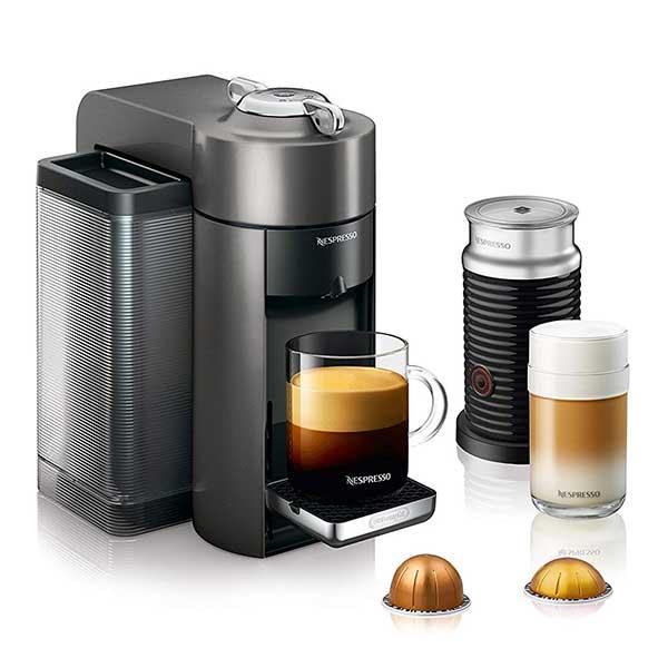 Nespresso by DeLonghi ENV135TAE Vertuo Evoluo Coffee and Espresso Machine