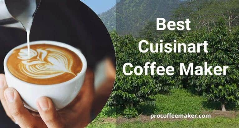 The 15 Best Cuisinart Coffee Maker In 2021