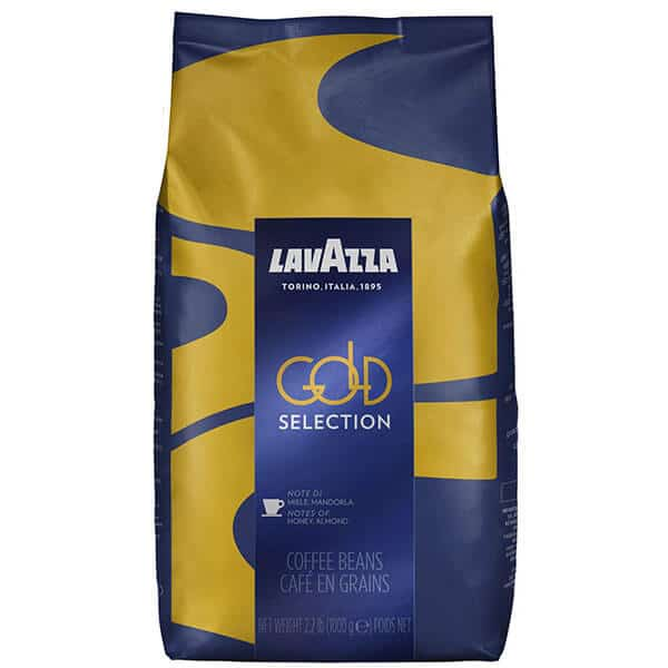 Lavazza Gold Selection Whole Bean Coffee Blend
