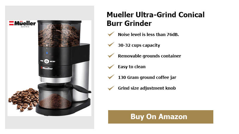 Mueller Ultra Grind Conical Burr Grinder