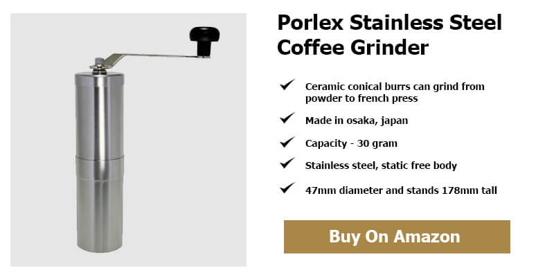 Porlex Stainless Steel Coffee Grinder